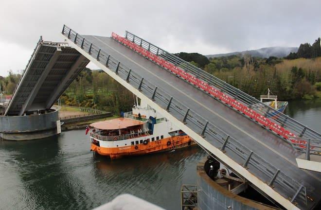 MOP de Los Ríos confirmó que durante diciembre no se producirán aperturasdel puente Cau Cau para paso de embarcaciones