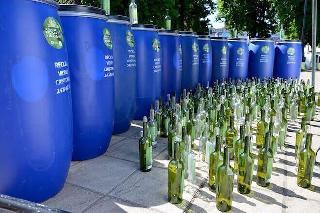 Mil tambores para reciclar vidrio se instalarán en Temuco