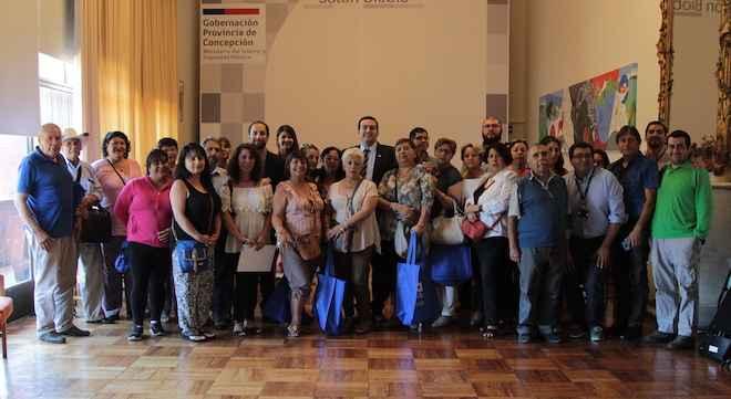 Dirigentes de 40 organizaciones sociales de Concepción y Talcahuano recibieron capacitación de Bienes Nacionales