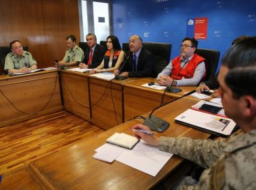 Intendente del Biobío decreta alerta amarilla en Comité Operativo de Emergencias por incendios forestales