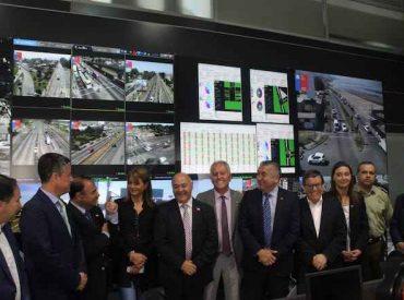 Ministerio de Transportes inaugura en la UOCT de Biobío el VideoWallmás grande de Chile