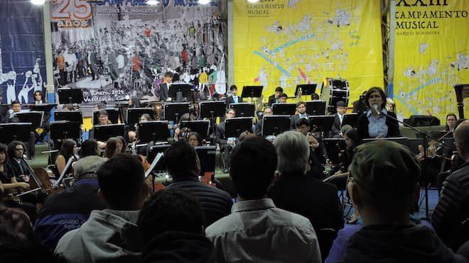 Clases formativas y conciertos gratuitos es lo que trae durante enero el campamento musical más antiguo de chile