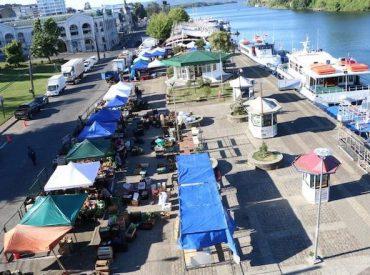 Comenzó mejoramiento de Feria Fluvial en Valdivia