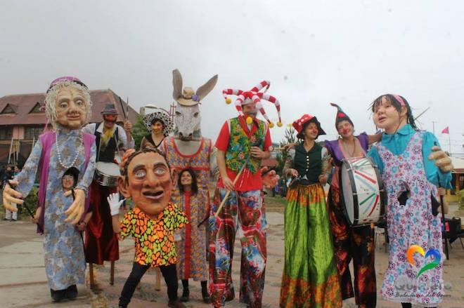 Marionetas Gigantes abrirán este sábado IX versión del Carnaval de Primavera en Valdivia