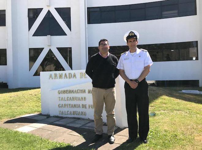 Armada compromete intensificar vigilancia para prohibir bañarse en Laguna Grandede San Pedro de la Paz