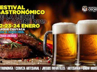 """""""Festival Gastronómico de la Leche y la Carne"""" se realizará esta semana en el Parque Chuyaca"""