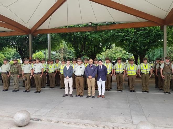 Gobernador Pérez de Arce destacó el balance policial durante los feriados largos en el Ranco