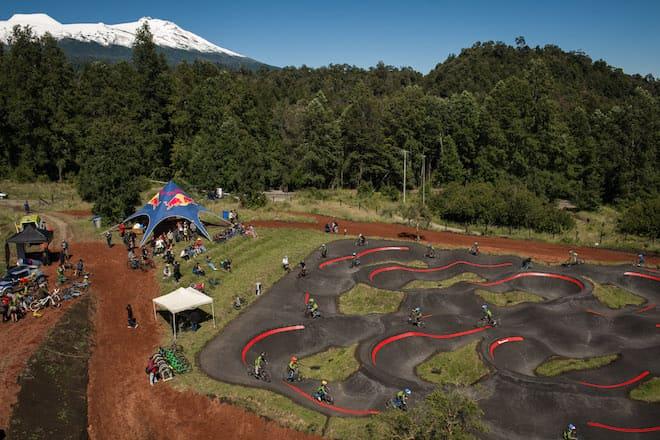 Huilo Huilo inauguró nuevo Bike Park y el Pump Track más grande de Latinoamérica