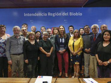 Autoridades sostienen encuentro con uniones comunales de juntas de vecinos de la provincia de Concepción