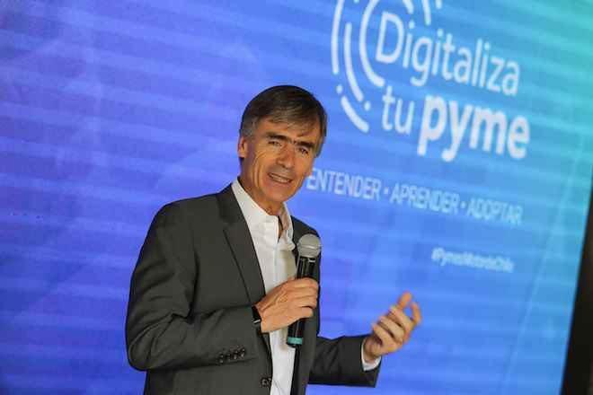 Ministro Valente encabeza lanzamiento de programa 'Digitaliza tu Pyme'