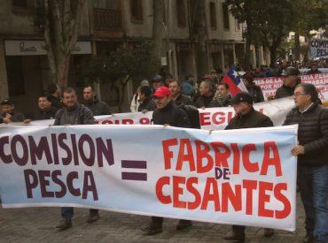 Trabajadores paralizan industria pesquera de la Región del Biobío