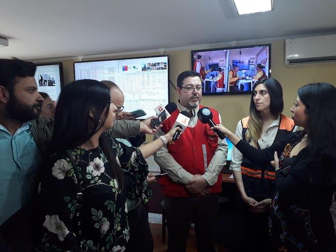 Situación de incendios forestalesen la Región del Biobío a las 18:00 horas