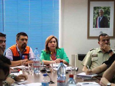 Decretan Alerta Roja para las provincias de Capitán Prat y General Carrera por aumento de incendios forestales