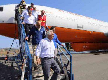 Intendente informó que avión DC-10 Ten Tanker operará desde Concepción