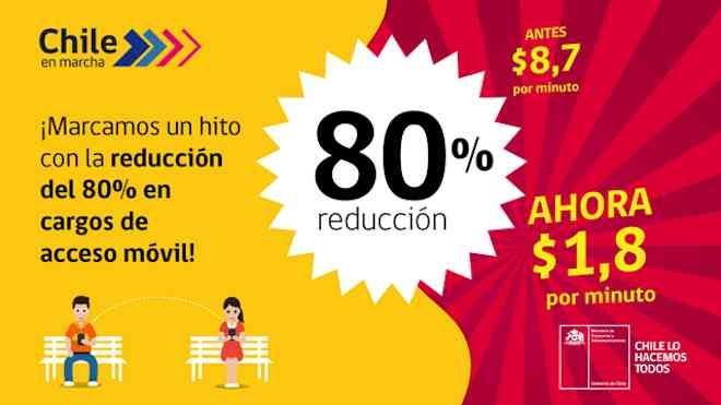 De 8.7 a 1.8 pesos por minuto bajará la tarifa de interconexión de telefonía beneficiando a miles de chilenos