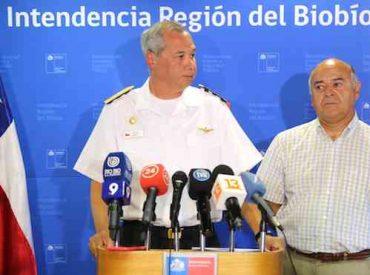 Gobierno decretó estado de excepción constitucional en la Región del Biobío