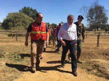 Ministro de Defensa destacó resultados regionales en el trabajo de extinción y prevención de los incendios forestales