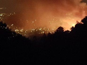Onemi declara Alerta Roja para la comuna de Temuco por incendio forestal
