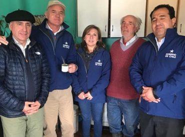 """Ministro Walker y ministro (s) Galli tras visita a Aysén: """"Mantenemos un optimismo moderado, porque hoy los incendios en la región están contenidos en su avance"""""""