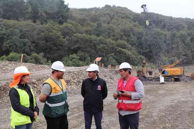 MOP ejecuta a toda máquina obras para la pavimentación de la ruta S-70 Pocoyan – Puente Peule
