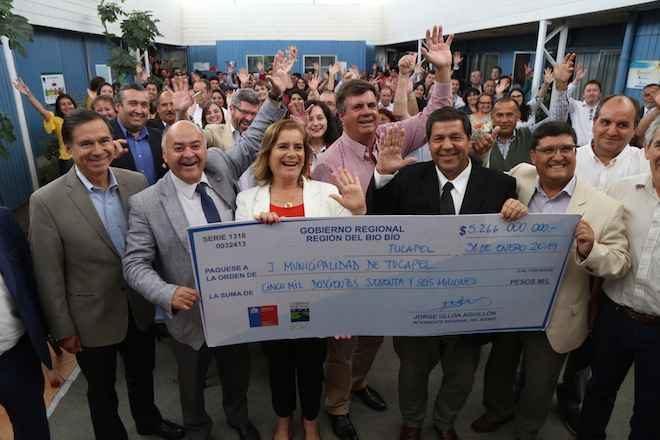 Gobierno Regional del Biobíoinvertirá 5.266 millones de pesos en nuevo edificio municipal paraTucapel