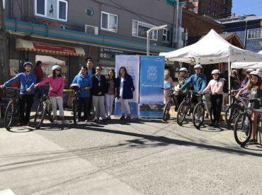 Última semana de bicicletas gratuitas dará paso a inicio de obras de mejoramiento del Paseo San Pedro en Puerto Varas