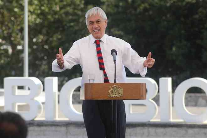 Presidente Piñera entregó Plan de Desarrollo Regional para Región del Biobío