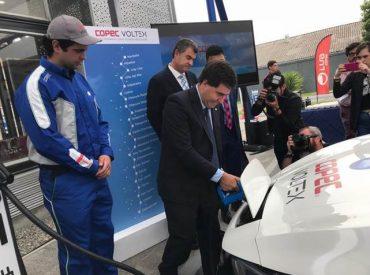 Subsecretario de Energía inaugura nuevo cargador eléctrico en la Región del Biobío