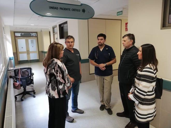 Autoridades monitorearon estado de los pacientes accidentados en Río Serrano