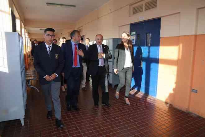 """Autoridades del Biobío anunciaron las 10 medidas del Plan de Mineduc """"Chile Aprende Más"""""""