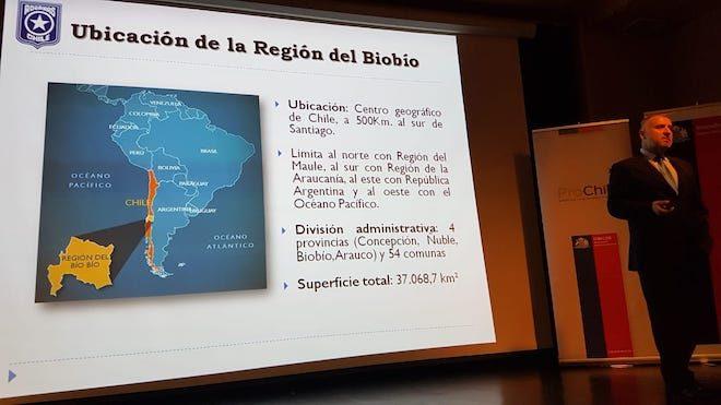 Aduanas expone su experiencia liderando Mesa de Comercio Exterior del Biobío