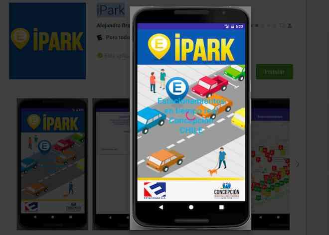 Concepción cuenta con aplicación para encontrar estacionamiento