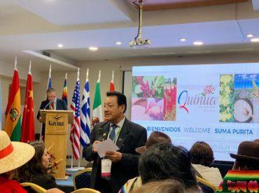 Región del Biobío participa con seis agricultores en el VIII Congreso Mundial de la Quinua