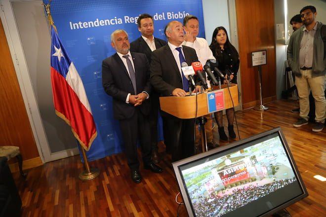 Intendente Ulloa señaló que Biobío tendría REC el 2020