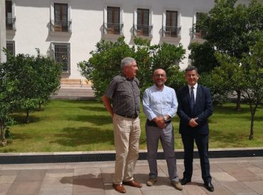 Leonidas Romero junto a alcaldes de Tomé y Santa Juana sostiene reunión con subdere por importantes aportes para las comunas del distrito