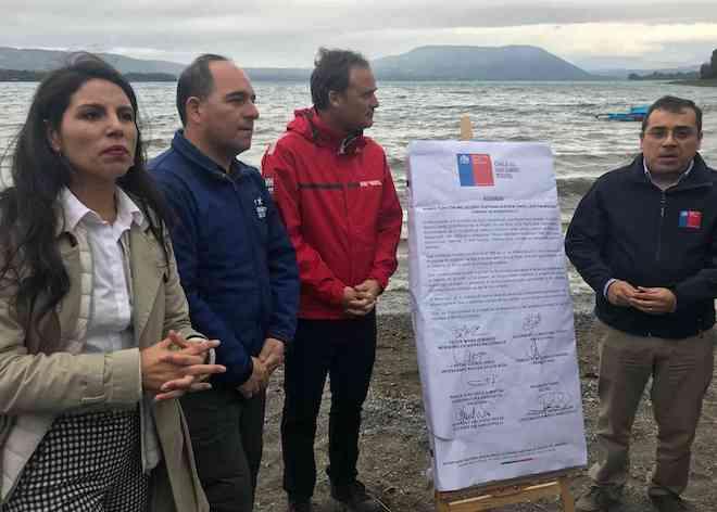 Ministro Ward anuncia acuerdo e inaugura acceso en Playa Linda de Los Ríos