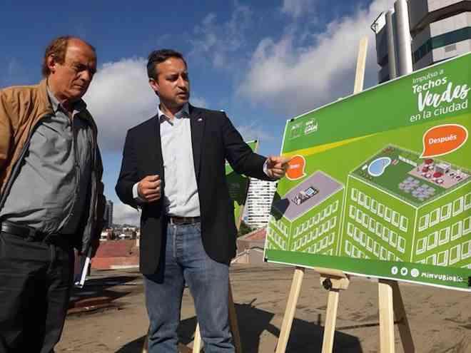 """Minvu Biobío anuncia ordenanza que promueve aumento de los """"Techos Verdes"""" en la región"""