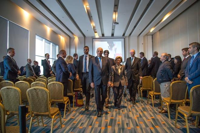 Reyes de Noruega inauguraron seminario científico enfocado en cambio climático y Antártica