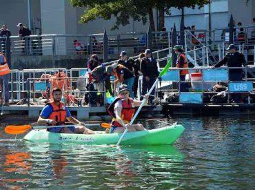 Universitarios limpiaron borde río de la USS en Valdivia