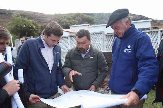 """MinistroWalkeren Tierra del Fuego: """"En los mercados internacionales hay mucha demanda de carne chilena y le vemos mucho futuro"""""""