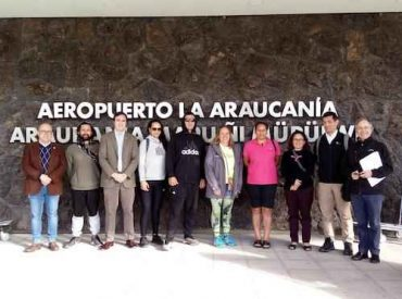 Emprendedores y funcionarios de Gobierno neozelandés realizan gira tecnológica en La Araucanía