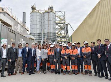 Ministro Valente participa en la inauguración de la nueva planta Arica de Cementos Bío Bío