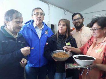 De recolectores de avellanas a microempresarios inauguraron Planta de Proceso