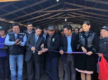 Cooperativa Campesina Mapuche inaugura bodega y maquinaria agrícola para mejorar la comercialización de papas