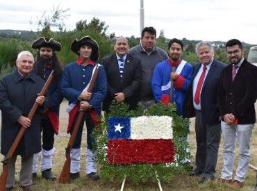 Dalcahue conmemoró 195 años de la Batalla de Mocopulli