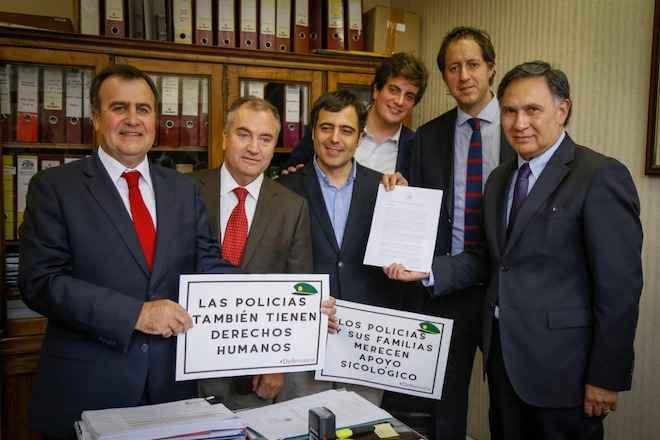 Diputado Urruticoechea presenta proyecto para crear organismo de defensa de las Policías