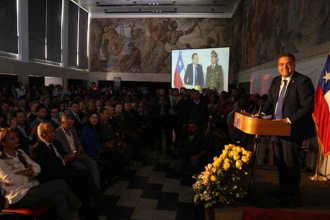 Sergio Giacaman asume como intendente de la Región del Biobío
