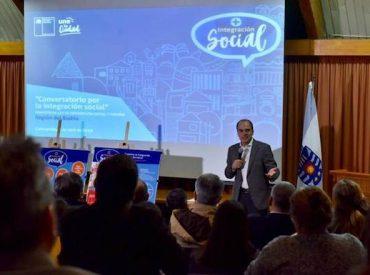 Ministro Cristián Monckeberg inicia diálogos ciudadanos para explicar el proyecto de ley de Integración Social y Urbana