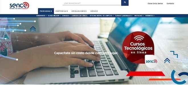 Sence invita a realizar cursos on-line para mejorar habilidades en la era digital