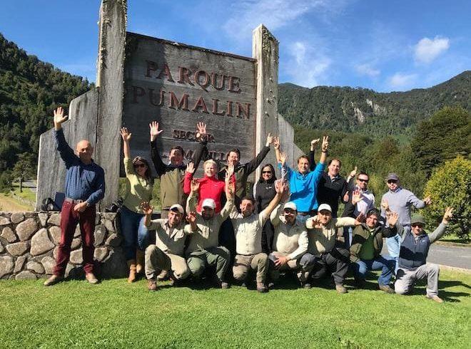 Director de CONAF visita parque Pumalín en vísperas de traspaso oficial al Estado